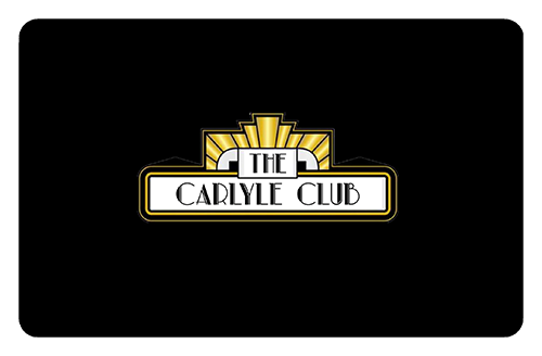 Carlyle Club gift card